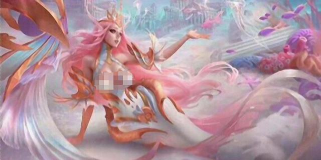 王者新皮膚爆料,達摩聯動聖鬥士,海洋之心原畫及粉色星元曝光