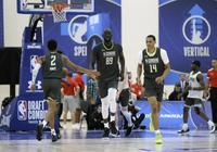 2米3巨人再度透露選秀試訓進展:NBA投三分太多了 不該只有三分球