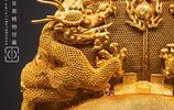 國之巨寶,實拍首都博物館萬曆皇帝金冠(金絲翼扇冠)