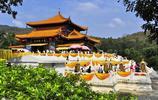 海南三亞南山大小洞天有著有800多年曆史,著名的道教文化風景區