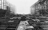 老照片:珍珠港美軍墳墓,亞利桑那號從開工到毀滅的全過程