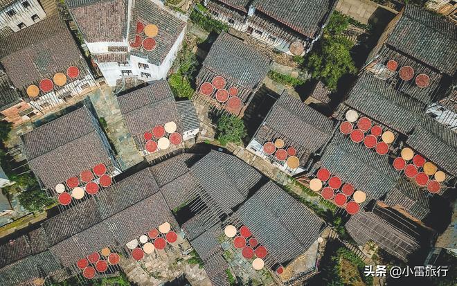 """世界獨一無二的""""晒秋""""景觀,最美中國鄉村,成為世界級古村樣板"""