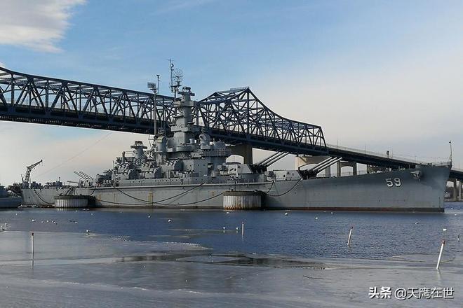 實拍美軍南達科他級戰列艦:主炮氣勢如虹,艦身威武霸氣!