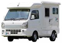 還沒兩廂車長的鈴木小型房車也能睡下四個人!13萬太便宜了