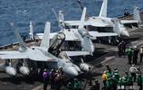 """美國航母上的殺手鐗 F/A-18""""超級大黃蜂""""戰鬥攻擊機"""