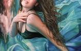 比利時超寫實畫家Christiane Vleugels筆下流光溢彩的美人集錦