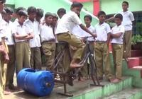 印度9歲小學生,製造出全球最便宜的洗衣機,一臺只要50元