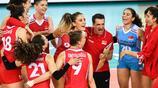 排球——世界女排聯賽江門站:土耳其勝美國