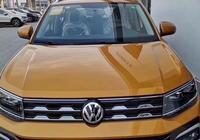 大眾最便宜的SUV駕到!上汽大眾T-Cross到店實拍/4月上市
