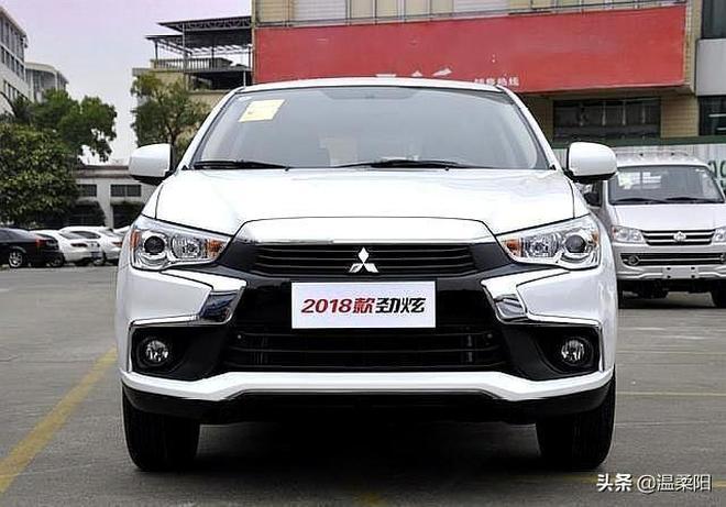 2018款三菱勁炫,擁有進口發動機的10萬級SUV,頂配不足15萬