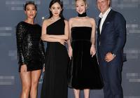 楊冪崔雪莉穿黑裙同框 一個典雅一個甜美