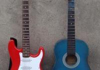 木吉他和電吉他哪個更難學?