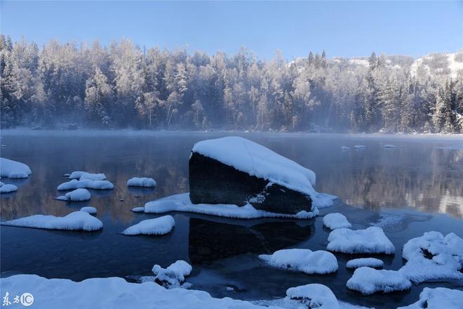 喀納斯,雪景,童話般的棲息地;這個冬季,最美,最安靜