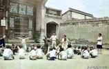 「老照片」1936年,山西汾陽的義務教育