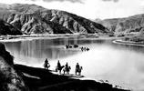 鐵索橋與牛皮船:1950年代的雅魯藏布江與拉薩河風情