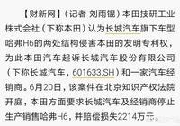 對於近日本田起訴長城H6侵權這件事你們怎麼看?