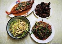 晚餐姐姐做了這4道家常菜,葷素搭配,簡單又好吃