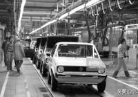 1979年西德沃爾夫斯堡的大眾生產線