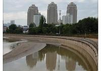 城市風光攝影之西寧湟水河一角