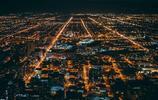 美麗的芝加哥夜景
