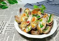白葡萄酒蔥燒蛤蜊