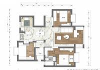 112㎡三居室五口之家,打造幸福的三代同堂,真是幸福