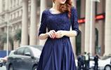 寬鬆的秋季加大碼連衣裙,能穿到180斤,胖MM穿上顯瘦有氣質