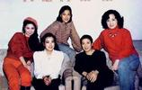 80年代超罕見老照片,圖一滾滾紅塵林青霞,圖五beyond登長城時