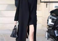 論時髦,肯豆穿的經典黑白配在任何場合都能hold住!