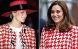 8張圖片告訴你,凱特王妃不僅和婆婆衣品相似,更像是一種致敬!