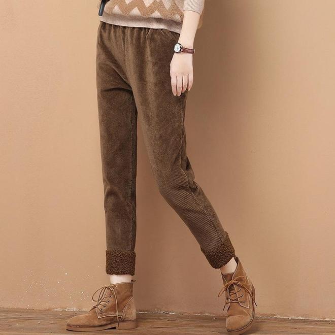 突然發現,今年流行小棉服+毛呢褲,巨適合小個子顯高不得了