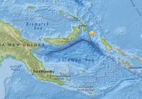 巴布亞新幾內亞附近海域發生5.2級地震