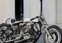 一輛摩托配四臺發動機,狂擰油門能超布加迪!就是天熱不能出門