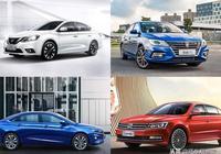 10萬緊湊級轎車選哪個?對比榮威i5、大眾朗逸、日產軒逸、帝豪GL