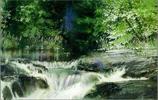 漂亮的水色,美國水彩畫家Nita Engle風光水彩作品欣賞
