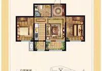 面积51平米,两室一厅一卫,该怎么装修?