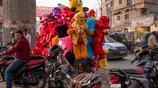 印度小城市街頭實拍:原來所謂的神牛都是流浪牛,靠吃垃圾為生