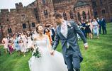酷!英國帥小夥辦古堡婚禮迎娶中國美麗姑娘