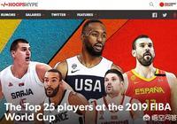 美媒評選男籃世界盃前25球星,中國0人,美國9人,字母哥第一,怎麼評價?
