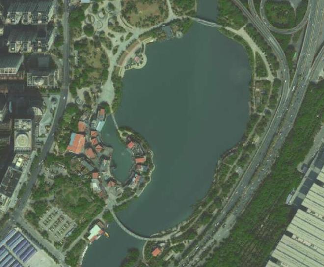 衛星圖上的南寧,認出來了嗎?