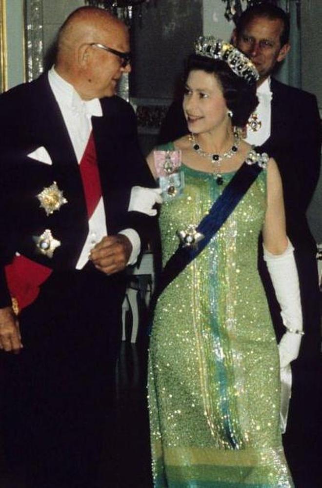 英國女王伊麗莎白二世的風格演變