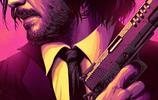 基努裡維斯《疾速追殺》系列海報比電影還好看!
