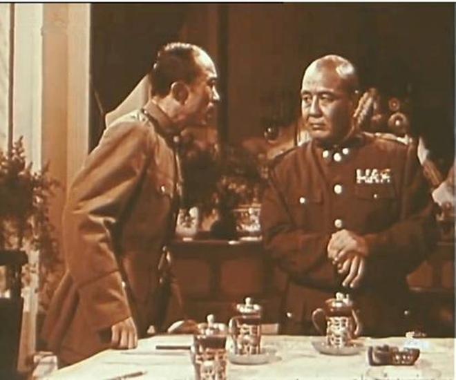 電影往事:電影表演藝術家王斑,新中國電影銀幕上永遠的湯司令