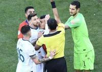 美洲盃季軍爭奪戰,梅西與梅德爾發生衝突,吃到了國家隊生涯第二張紅牌。你怎麼看?