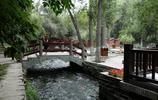 風景圖集:烏魯木齊水磨溝,溪水潺潺,水流淙淙,不是江南勝江南