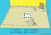 隨感漫畫:日子是不是跟別人不一樣啊, 直線思維決定方片人生!
