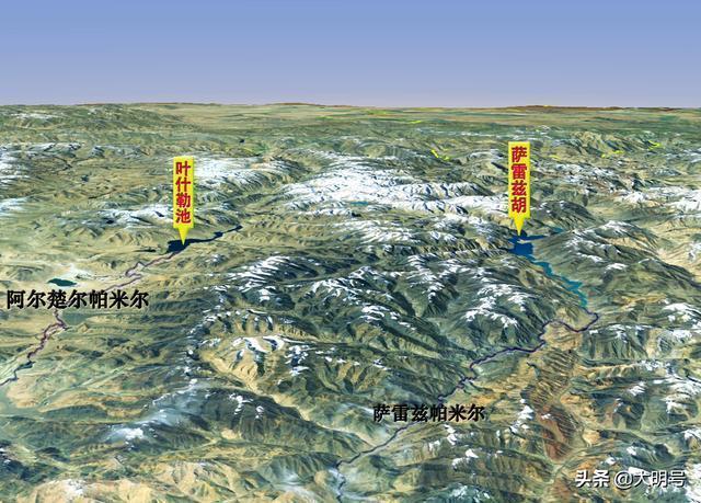 圖說帕米爾高原的歷史變遷,從中國獨有到分屬三國