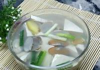 蛤蜊豆腐湯