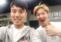 「BTOB」「分享」170516 拳擊館長與昌燮合照公開 久違的拳擊燮迴歸!