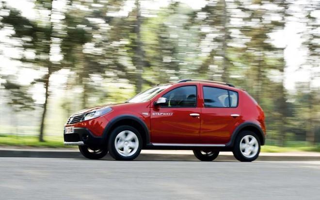 汽車圖集:雷諾Dacia Sandero 轎車